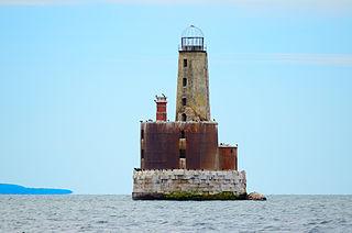 Waugoshance Light lighthouse in Michigan, United States