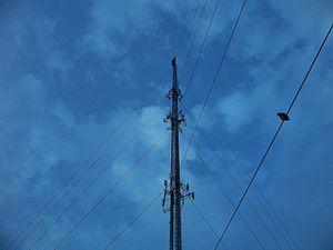 WCIB - WCIB's transmission tower in Falmouth