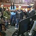 Weareorganic crew rolling deep to the #CODAME #ArtByCode final reception last week #vr #rift #godeep (by j bizzie) 2015-02-02.jpg