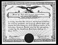 Weather Bureau Lake Charles meritorious citation after Hurricane Audrey.jpg
