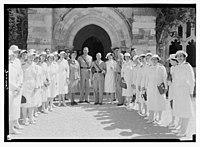 Wedding, Lister Turville-Mrs. Wills, Oct. 6, 1942. LOC matpc.14412.jpg