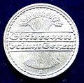 Weimar Republik 50 Pfg 1919 D Al- Coin. Reverse.jpg