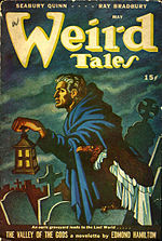 Weird Tales cover image for May 1946