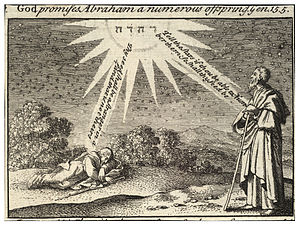 Wenceslas Hollar - Abraham's dream (State 2)