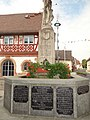 Wenigumstadt Brunnen heiliger St. Sebastian Obere Straße (4).jpg