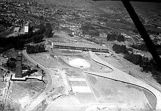 Vista aérea do Parque do Ibirapuera. São Paulo/SP