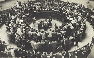 B3 (stock exchange) - Stock Exchange trading, mid-twentieth century