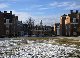 Ohio University - West Green Quadrangle