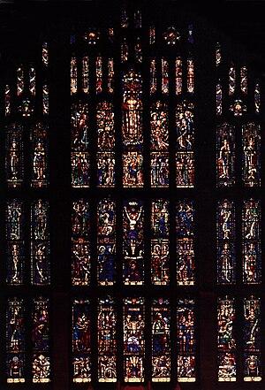 Willet Hauser Architectural Glass - Sanctuary Window, Graduate Chapel, West Point, New York