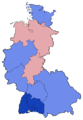 West German Federal Election - Party results by state - 1949.png
