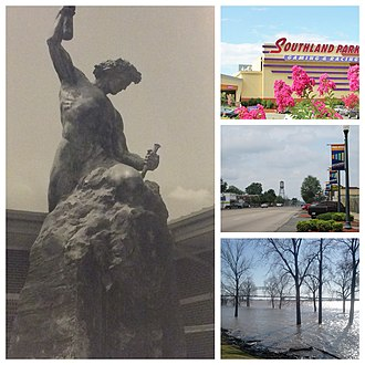 West Memphis, Arkansas - Image: West Memphis collage