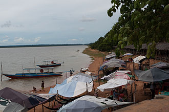 West Baray - Beach at the West Baray