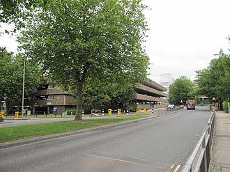 Westgate, Oxford - The former multi-storey car park of Westgate which was demolished early 2015 ahead of redevelopment.
