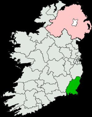 Wexford (Dáil Éireann constituency) - Image: Wexford (Dáil Éireann constituency)