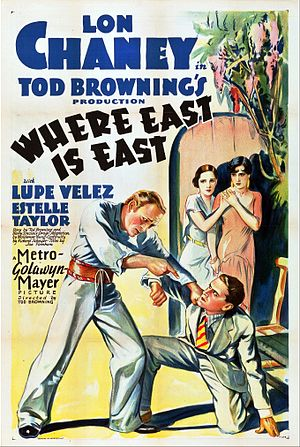 Where East Is East - Theatrical release poster