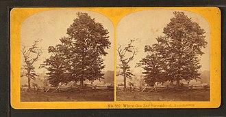 Benjamin W. Kilburn - Image: Where Gen. Lee surrendered, Appamattox, by Kilburn Brothers