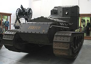 "6th Royal Tank Regiment - Whippet Mk A tank A347 ""Firefly"", of 6th Battalion Tank Corps, currently in the Museum of the Army in Brussels"