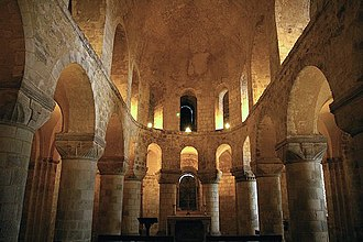 Norman and Medieval London - St John's Chapel, inside the White Tower. One of only two surviving Norman churches in London