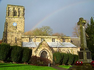 Whitwick - Image: Whitwick parish church