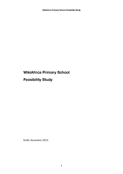 File:WikiAfrica Primary School Feasibility Study November