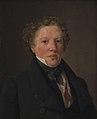 Wilhelm Bendz - The Actor Christoffer Hvid - KMS3262 - Statens Museum for Kunst.jpg