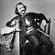 Wilhelm Busch, 1860