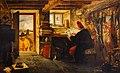 William Fettes Douglas (1822-1891) - Hudibras and Ralph Visiting the Astrologer (from Butler's 'Hudibras') - NG 1479 - National Galleries of Scotland.jpg