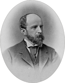 1885 photograph of Adams by William Notman