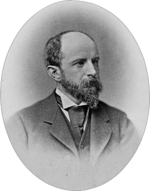 Henry Adams - 1885 photograph of Adams by William Notman