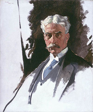 Robert Borden - William Orpen: Portrait of Sir Robert Laird Borden, Oil on canvas, 1919
