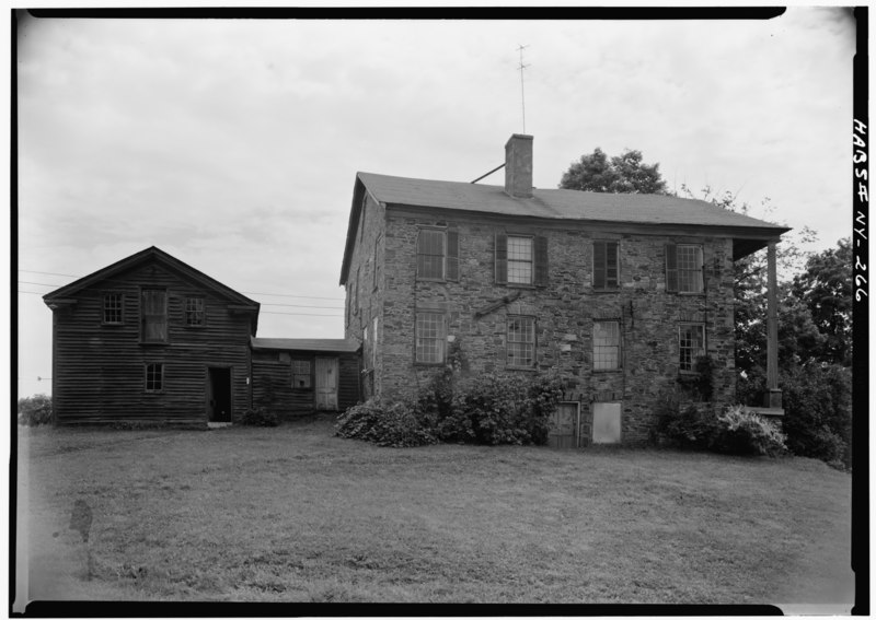 File:Williams-Childs House, State Route 28, Otsego Township, Oaksville, Otsego County, NY HABS NY,39-OAK,1-2.tif