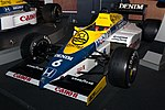 Williams FW10 front-left 2017 Williams Conference Centre.jpg
