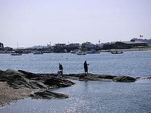 Bailey Island (Maine) - Will's Gut from Orr's Island.
