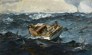 <i>The Gulf Stream</i> (painting) painting by Winslow Homer