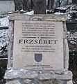 Wittelsbach Erzsébet magyar királyné emléktáblája.jpg