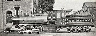 South African Class FC 2-6-2+2-6-2 - Mason Bogie Single Fairlie, c. 1874