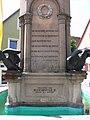 Wolframs-Eschenbach Wolfram-Denkmal Sockel.jpg