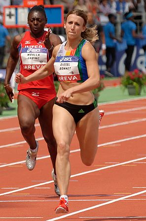 Women 100 m French Athletics Championships 2013 t151422 (cropped).jpg