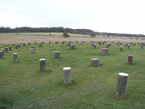 Durrington, Wiltshire - Woodhenge lies within the parish boundary