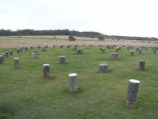 Woodhenge Neolithic henge and timber circle monument near Stonehenge