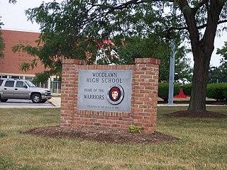 Woodlawn High School (Maryland) Public school in Baltimore, Maryland, United States