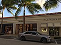 Worth Avenue in Palm Beach Florida with Chrysler 300 silver.jpg