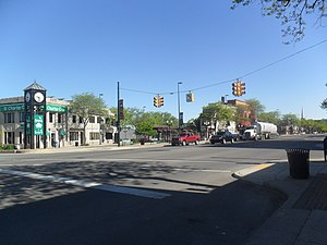 Jefferson Avenue (Detroit) - Image: Wyandotte MI