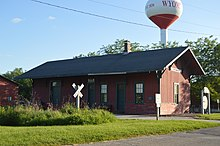 Chicago, Burlington & Quincy Railroad Depot (Wyoming, Illinois)