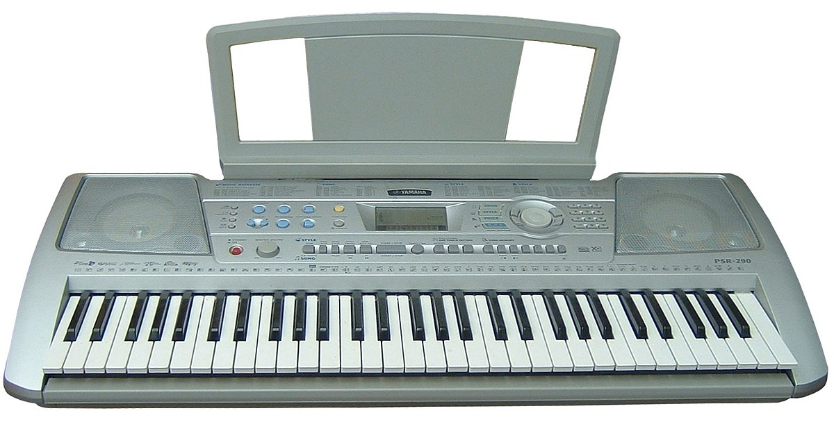Electronic keyboard wikipedia for Yamaha piano keyboard models