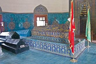 Mehmed I - His mausoleum, Green Tomb, in Bursa