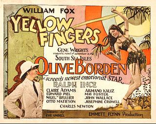 <i>Yellow Fingers</i> 1926 film