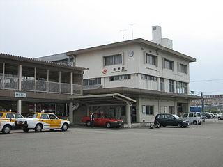 Yoshiwara Station Railway station in Fuji, Shizuoka Prefecture, Japan