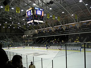 Yost Ice Arena - Interior of Yost Ice Arena