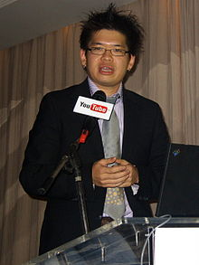 Description de l'image YouTube TaiwanVersionLaunch SteveChen-1.jpg.